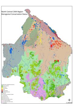 Figure 3 Bioregional Conservational Status